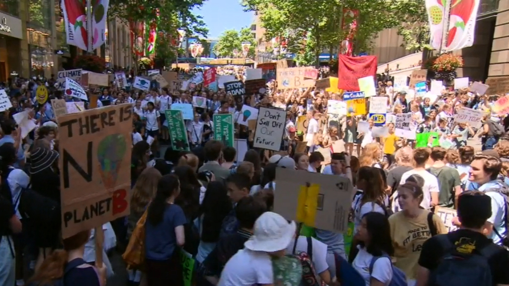 Thousands of students expected to attend climate change protest