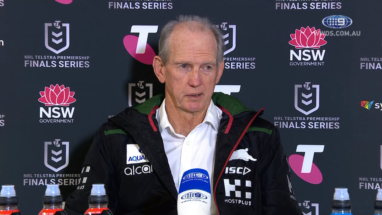 NRL Video 2019 | NRL Press Conference: Wayne Bennett - Finals Week Two