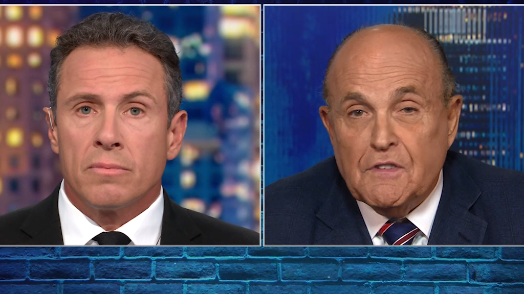 Giuliani: 'Of course' I asked Ukraine to investigate Biden