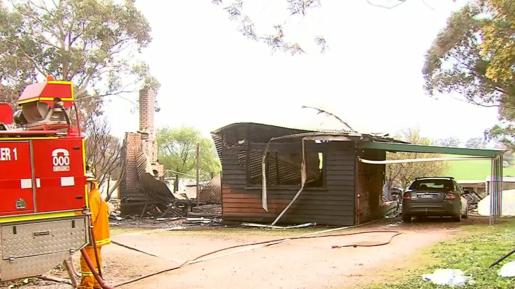 Grandfather killed in house fire
