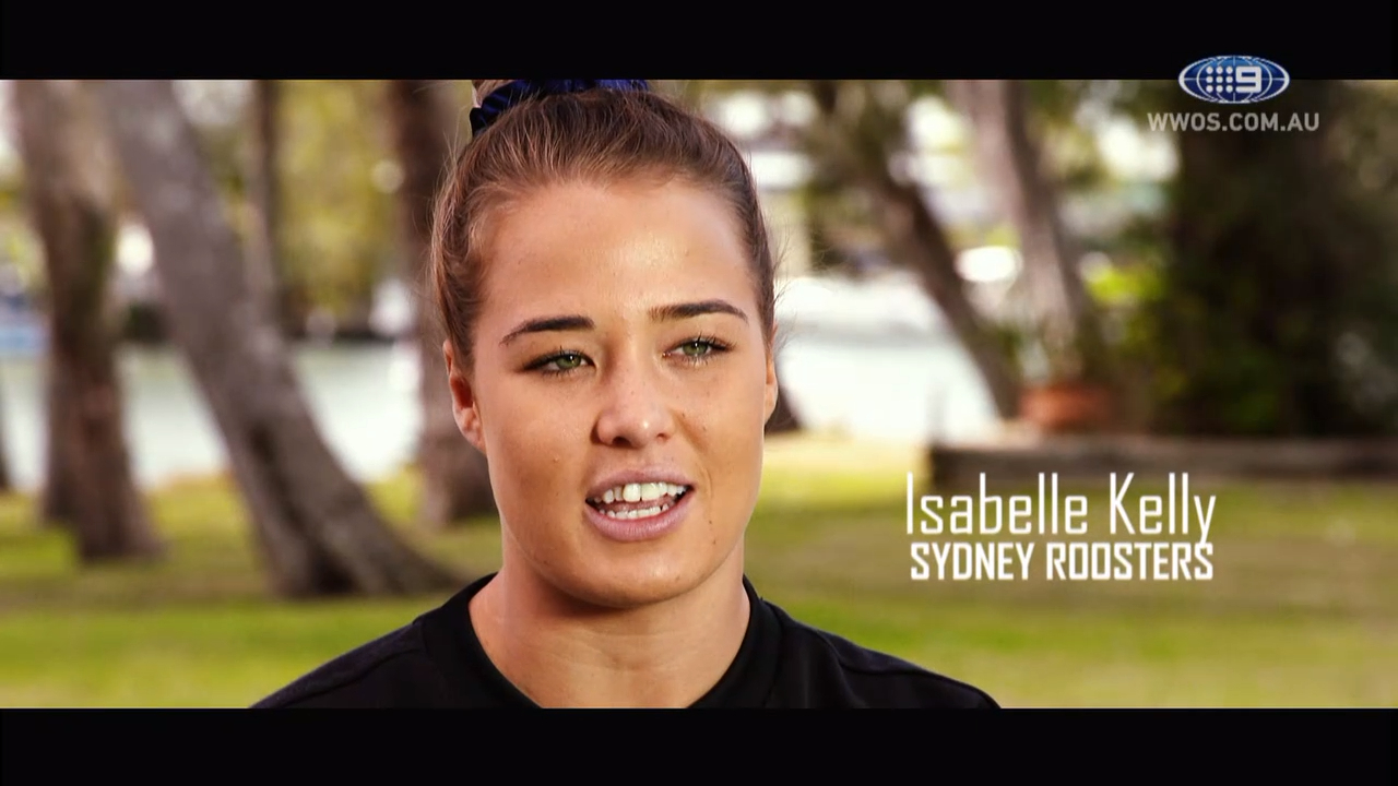 NRL Video 2019 | Meet NRLW star Isabelle Kelly