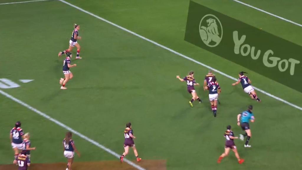 Brigginshaw's brilliant kick and score