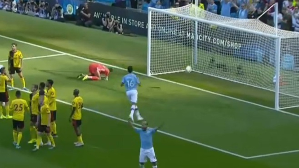 Man City smash Watford 8-0 in EPL