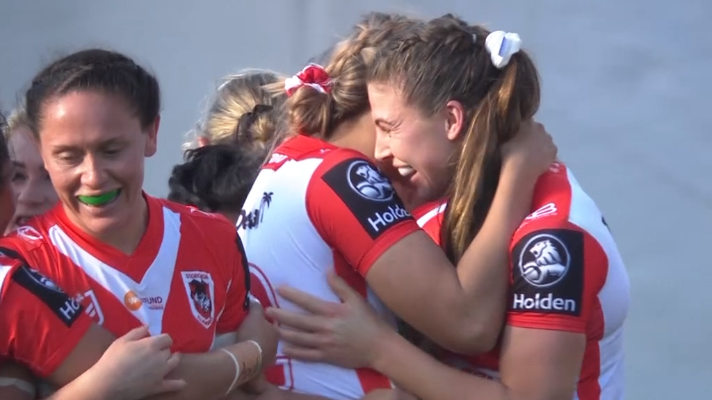 NRL Video 2019 | NRLW Highlights: Warriors v Dragons - Round 2