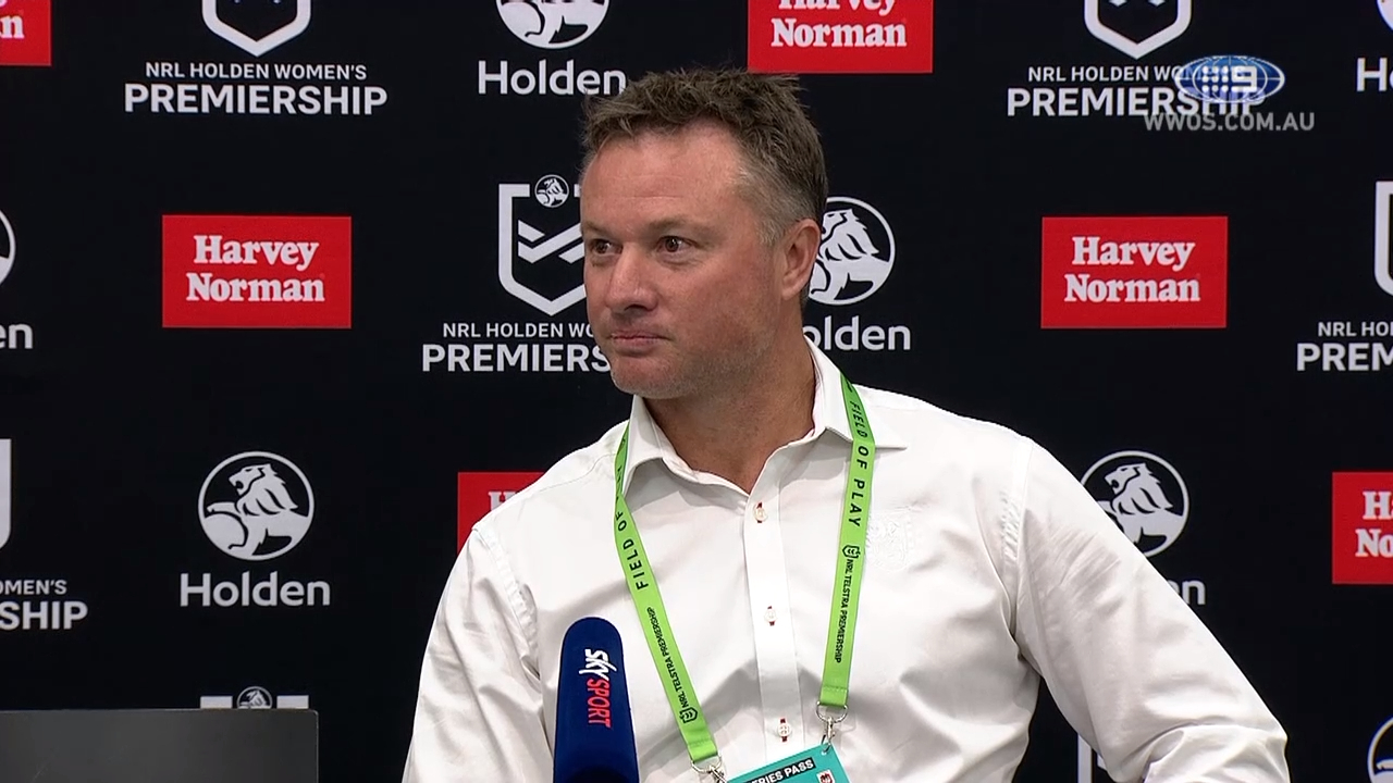 NRL Video 2019 | NRLW Press Conference: Daniel Lacey - Round 2