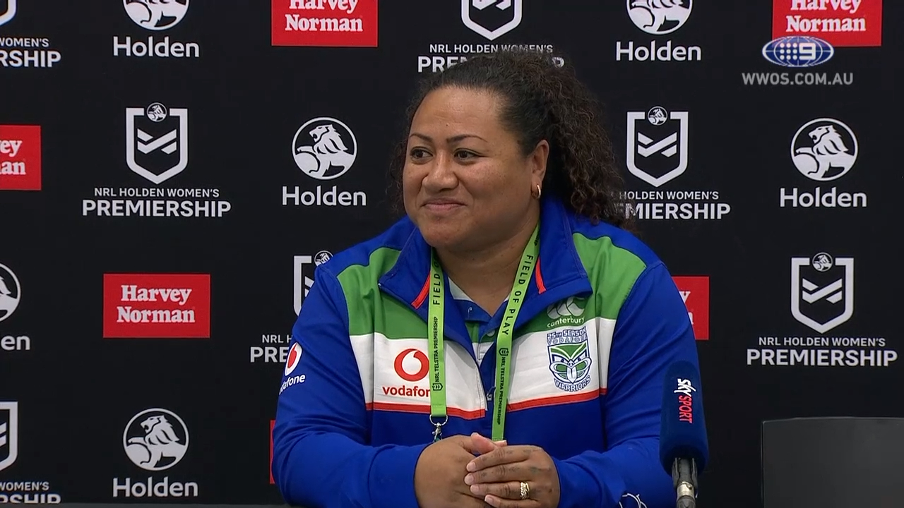 NRL Video 2019 | NRLW Press Conference: Luisa Avaiki - Round 2
