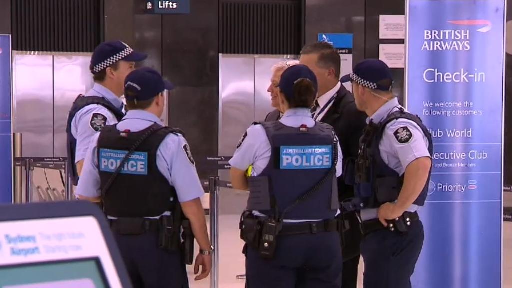 Moment Sydney Airport bomb plot fails caught on camera