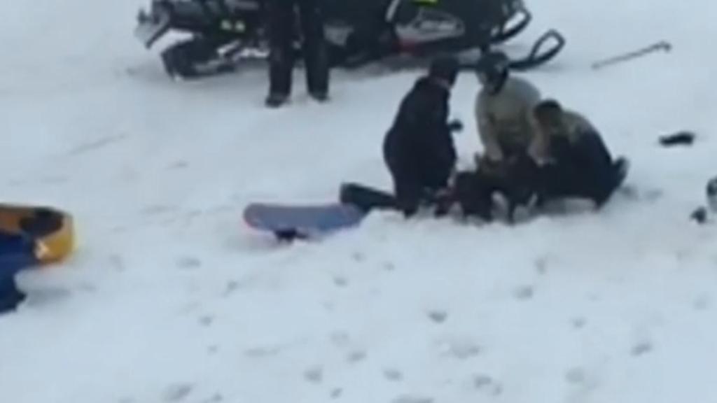 Woman falls from ski lift at Perisher
