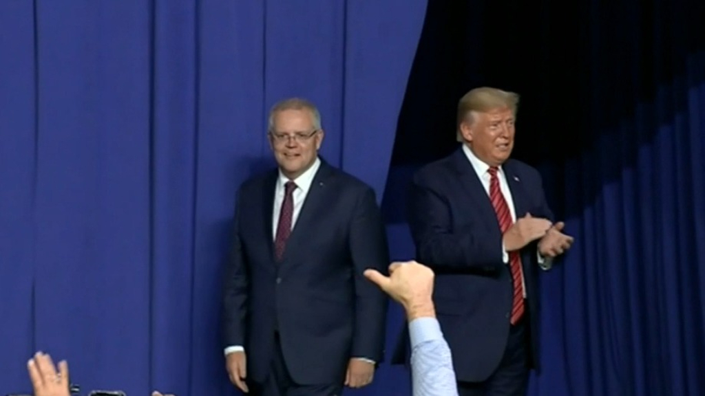 PM visits Trump supporters in Ohio