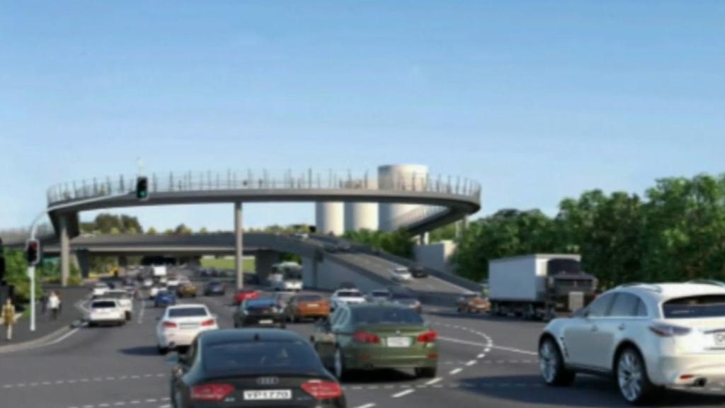 Locals anger over Sydney motorway overpass