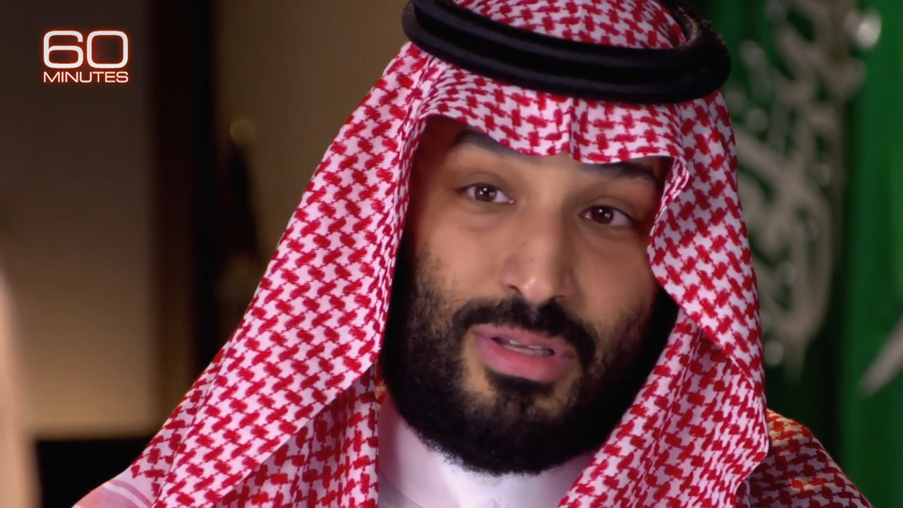 Saudi Crown Prince slams Iran in CBS interview
