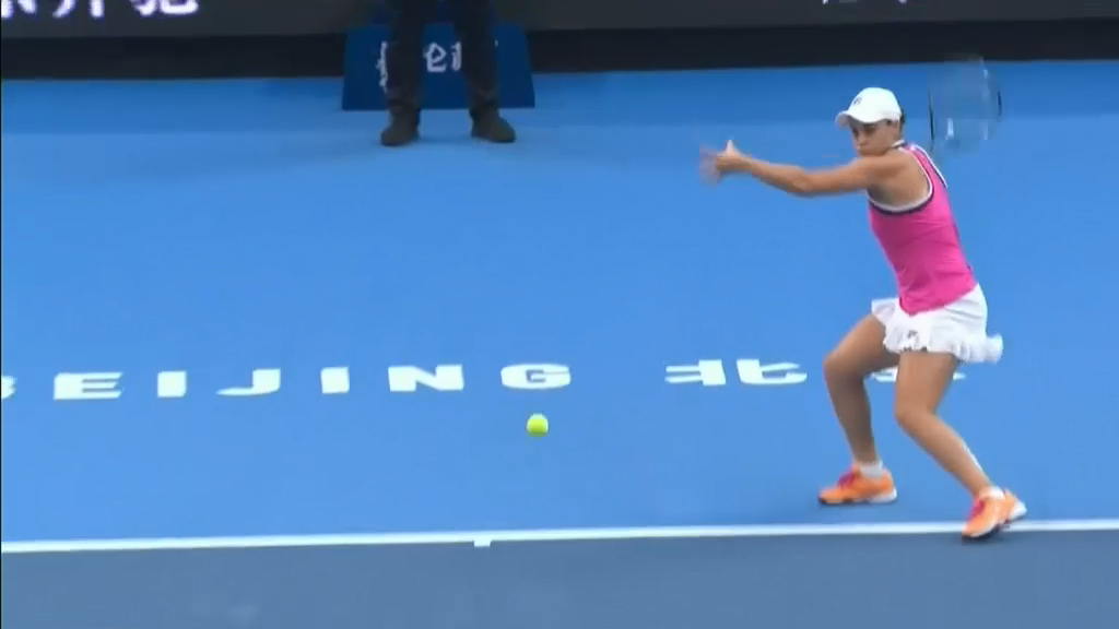 Barty beaten in China Open final