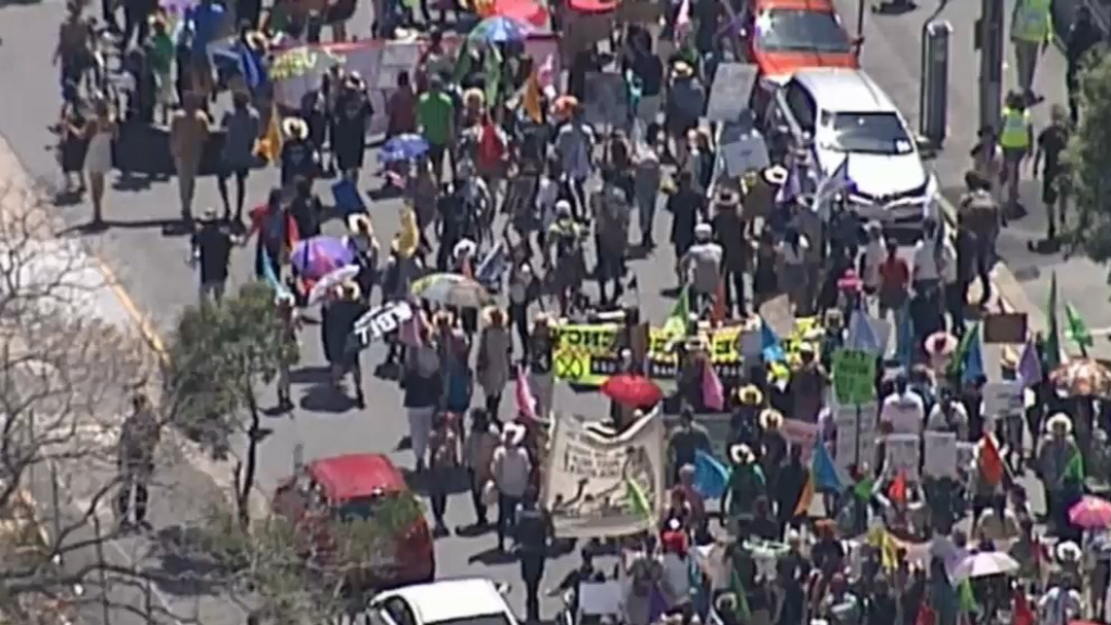 Dozens arrested at Extinction Rebellion climate protests
