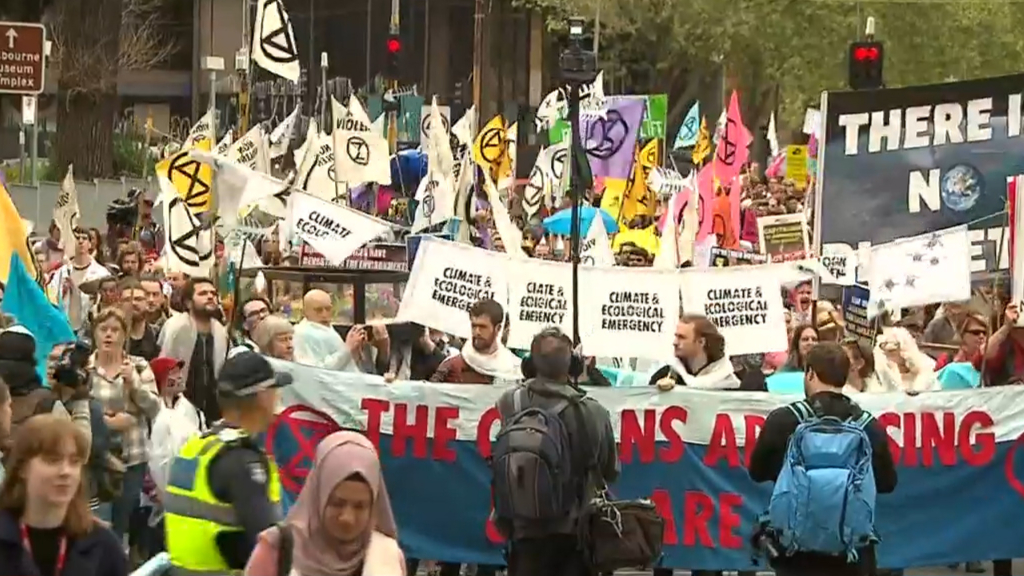 Extinction Rebellion launches two weeks of protests around the world