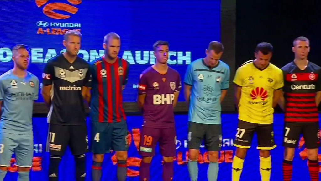 A-League 2019/2020 season launch