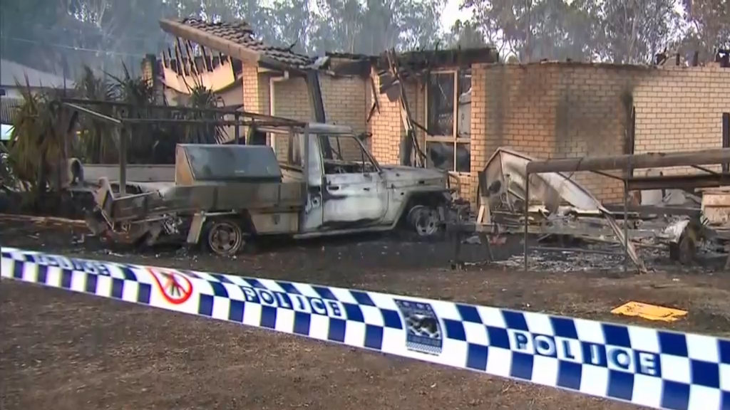 QLD firefighters relieved as danger eases
