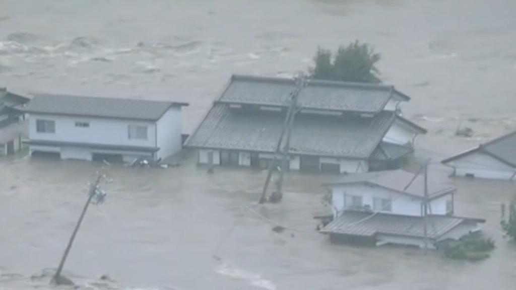 Typhoon Hagibis devastates Japan