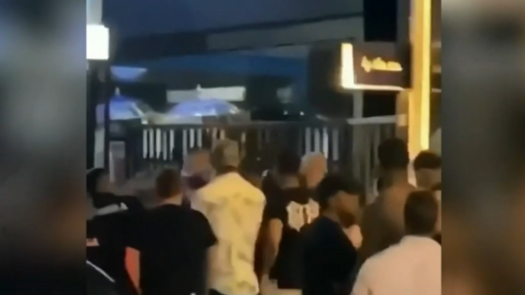 Bali nightclub brawl