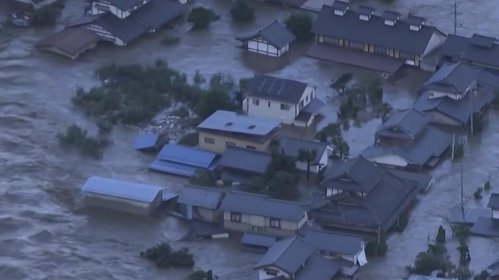 Typhoon Hagibis batters Japan