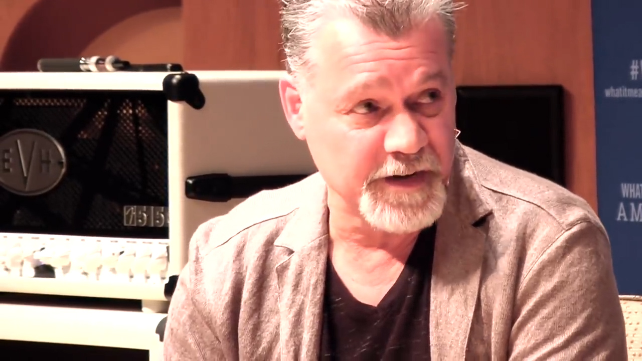 Eddie Van Halen opens up about the band