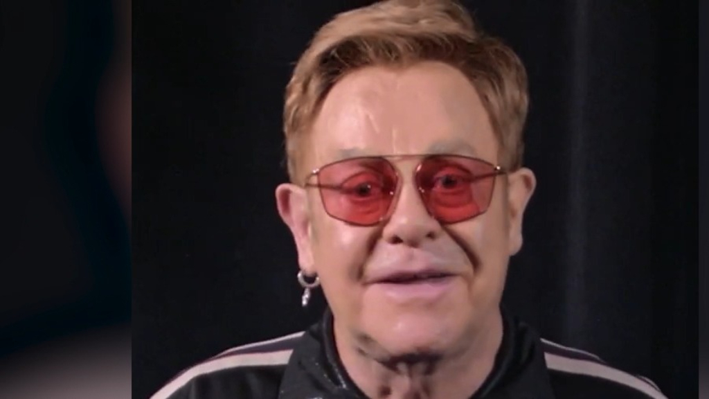Elton John promotes his new autobiography 'Me'