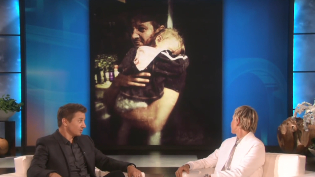 Jeremy Renner calls fatherhood his best job to date