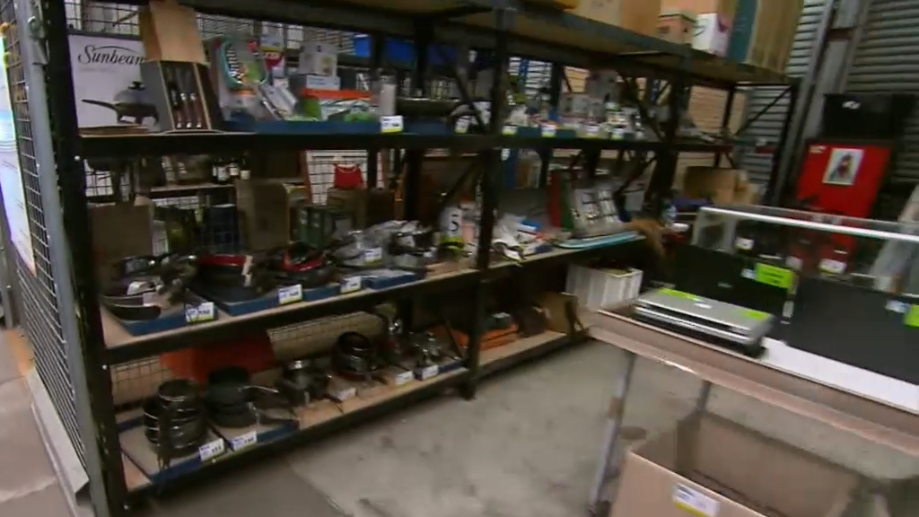 Perth Airport Auction Thousand Of Items Go Under The Hammer