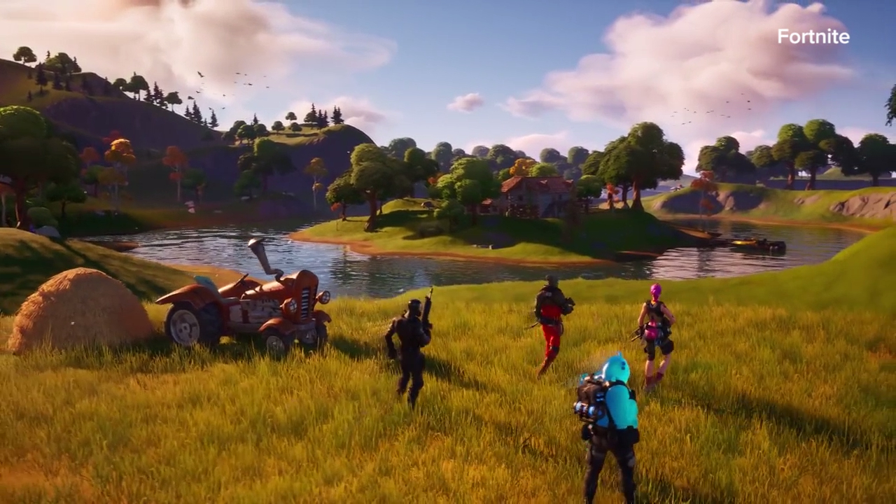 'Fortnite Chapter 2' launch trailer
