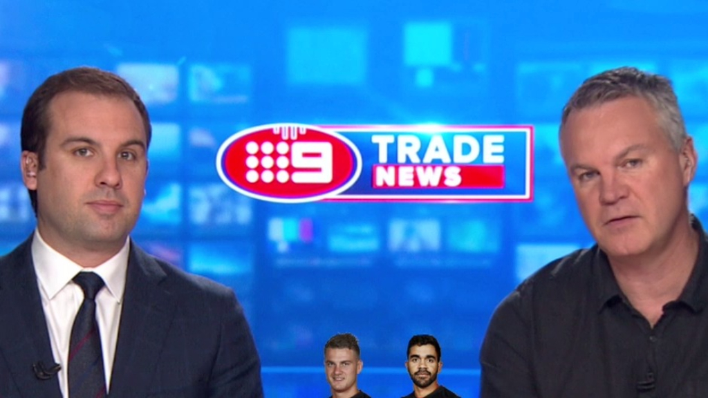 Day 10 of the AFL 2019 trade period