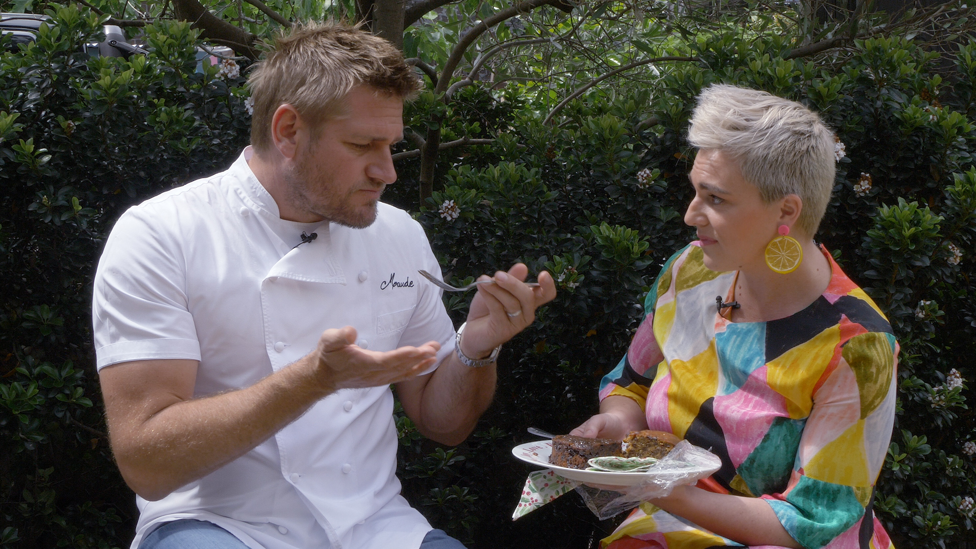 Curtis Stone's verdict on Three Ingredients Christmas cake