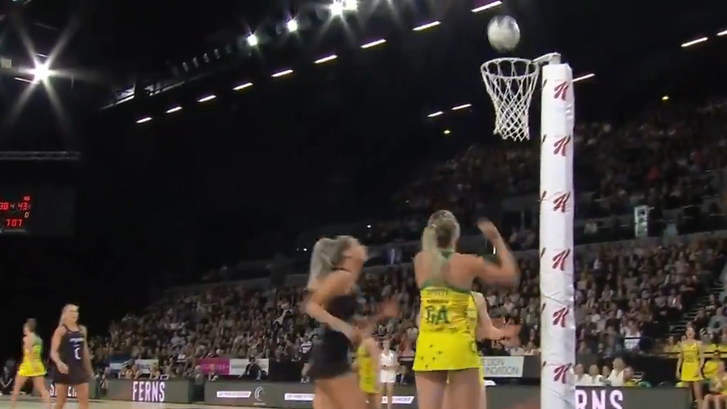 Diamonds dominate Silver Ferns