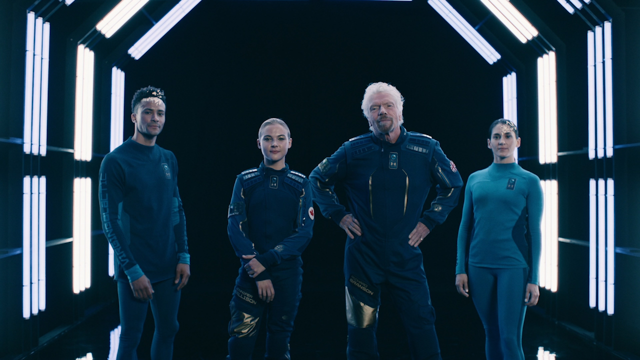 Virgin Galactic unveils its new space suits