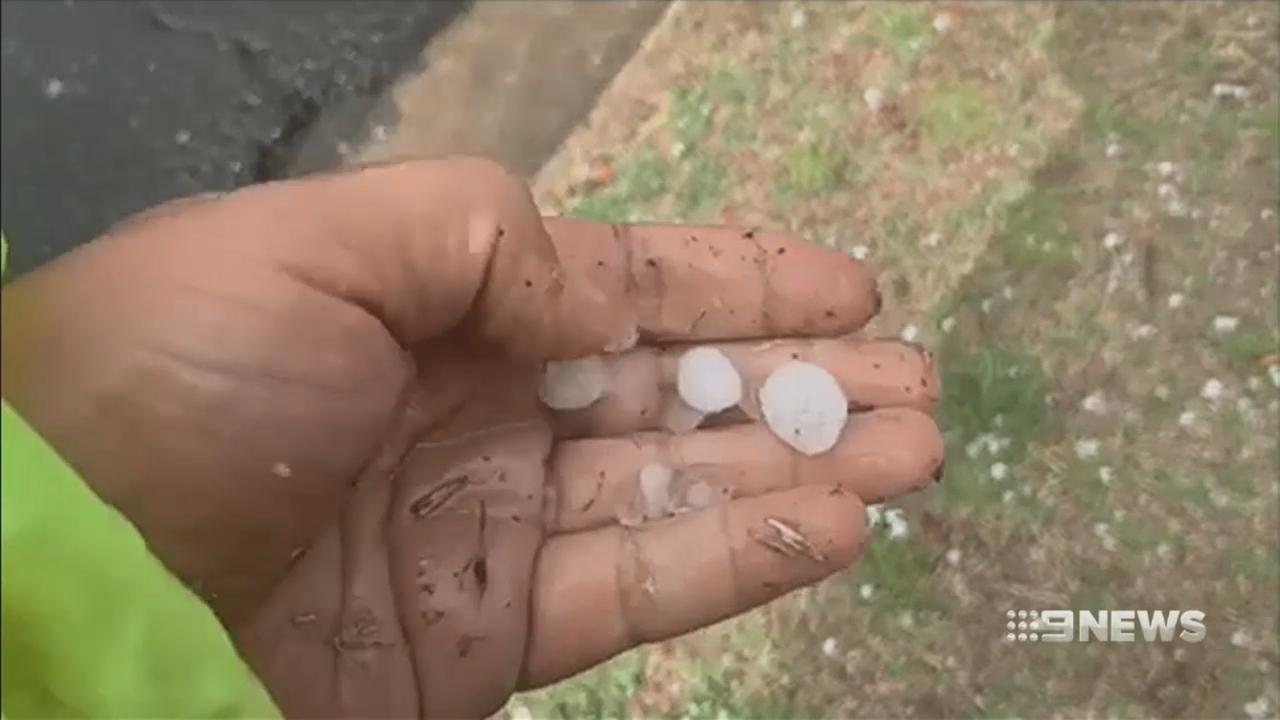 Intense storm rolls across Queensland's south-east