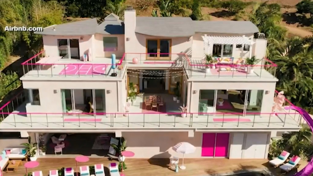 Now you can stay in a Barbie dream house with Airbnb