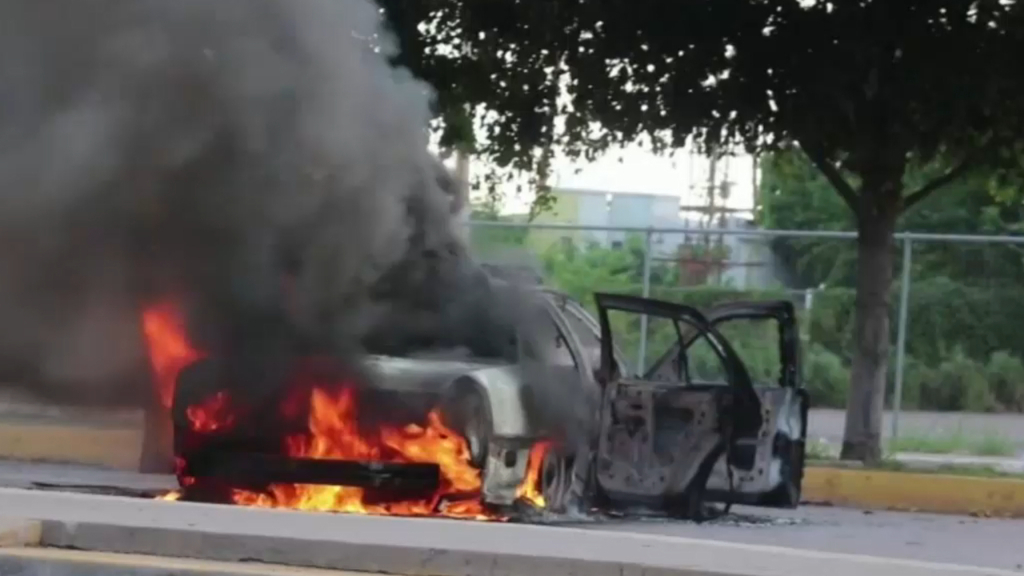 Gun battle erupts in Mexico after son of drug lord was arrested
