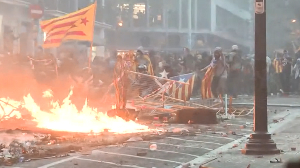 Barcelona rocked by fresh separatist anger
