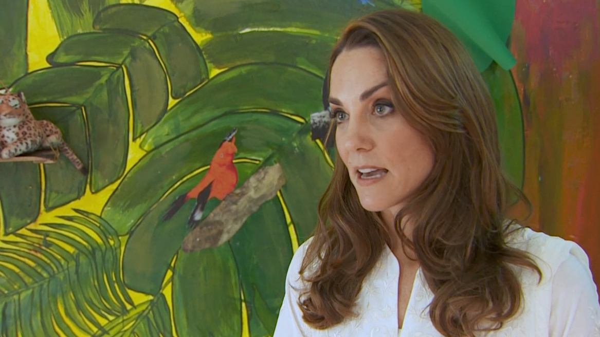 Kate Middleton gives first ever TV interview about cause close to her heart