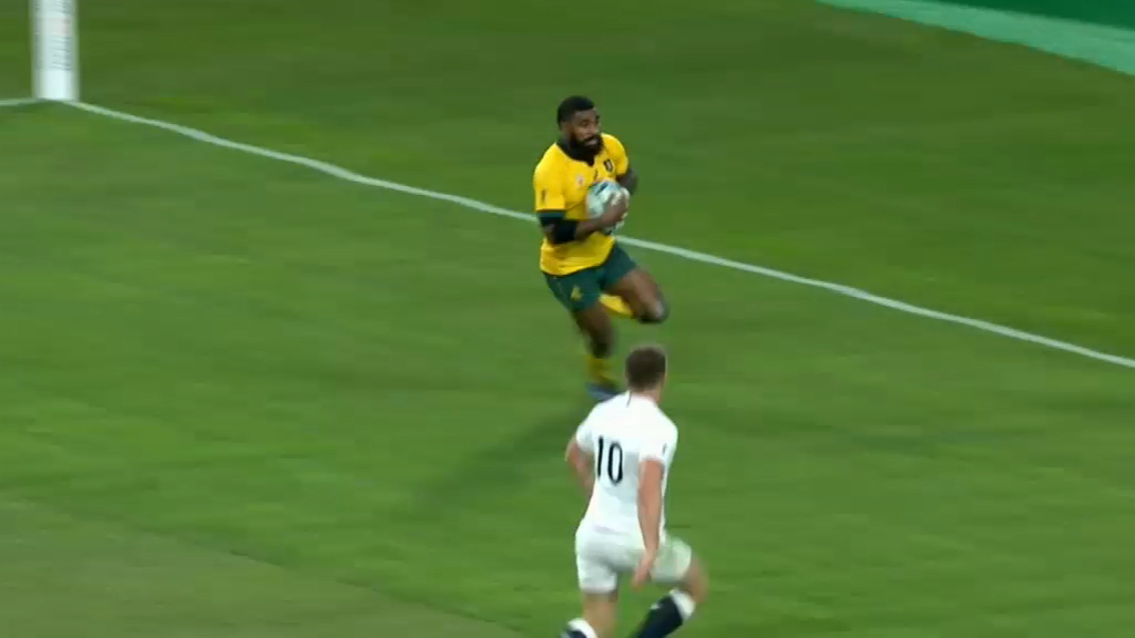 Koroibete gets Wallabies opening try