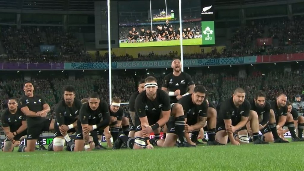 All Blacks unleash fearsome Haka