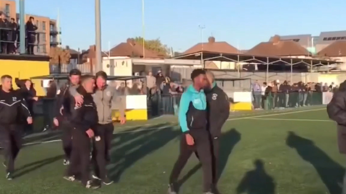 English Cup game ends due to racist abuse