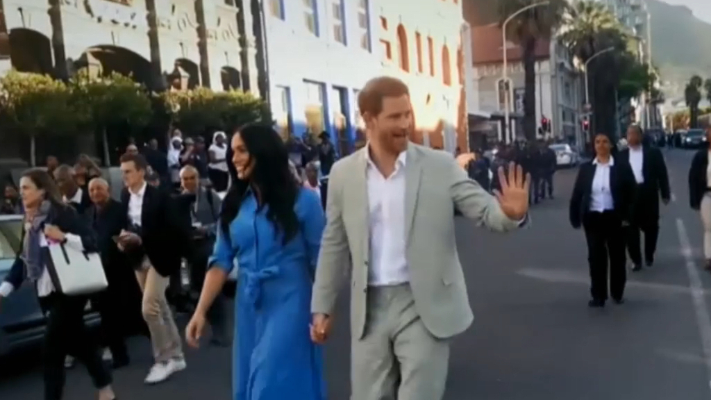 Harry and Meghan get candid in new documentary