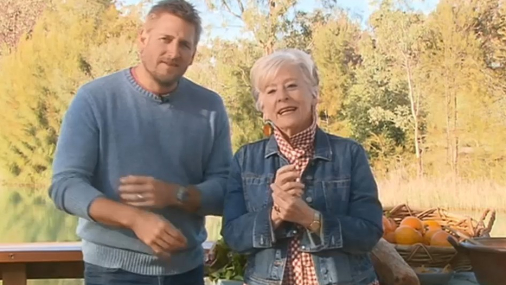 Maggie Beer and Curtis Stone on their new TV show
