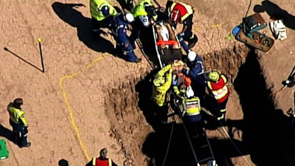 Man hurt in Sydney workplace accident