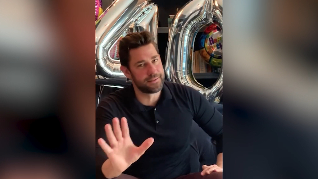 John Krasinski reveals daughter forgot his 40th birthday