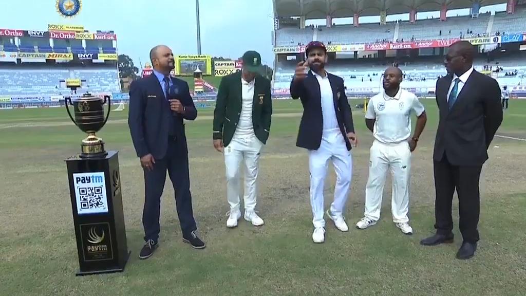 Du Plessis' bizarre coin toss ploy