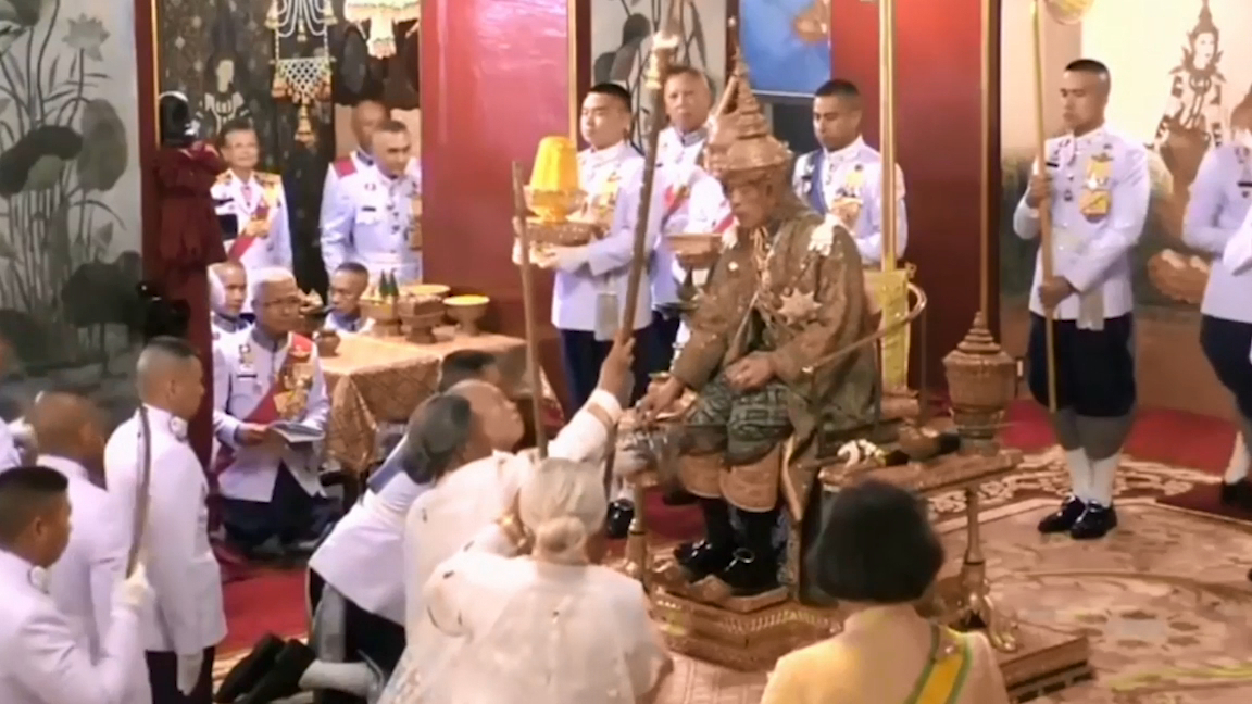 Thailand's King Maha Vajiralongkorn coronation ceremony