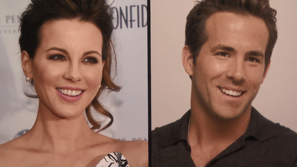 Kate Beckinsale says she looks like Ryan Reynolds