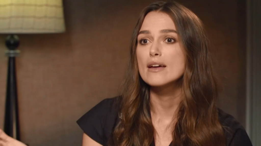 Keira Knightley opens up about fame