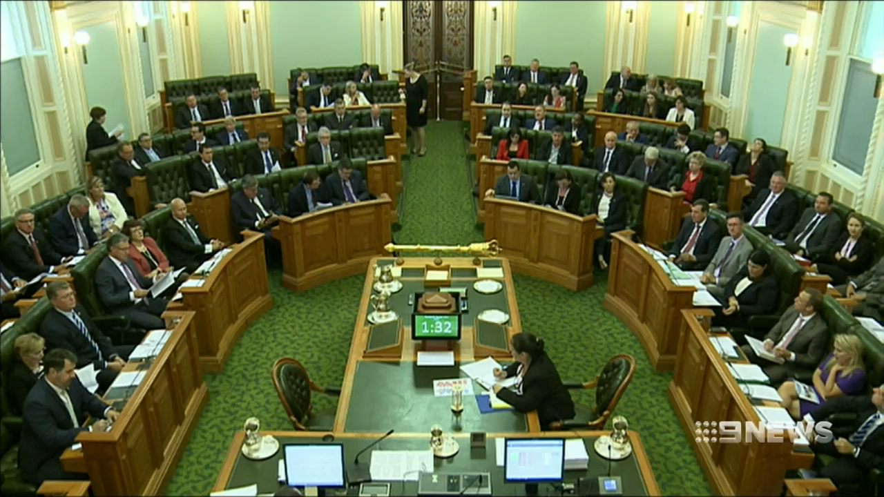 Queensland Premier found in contempt of Parliament