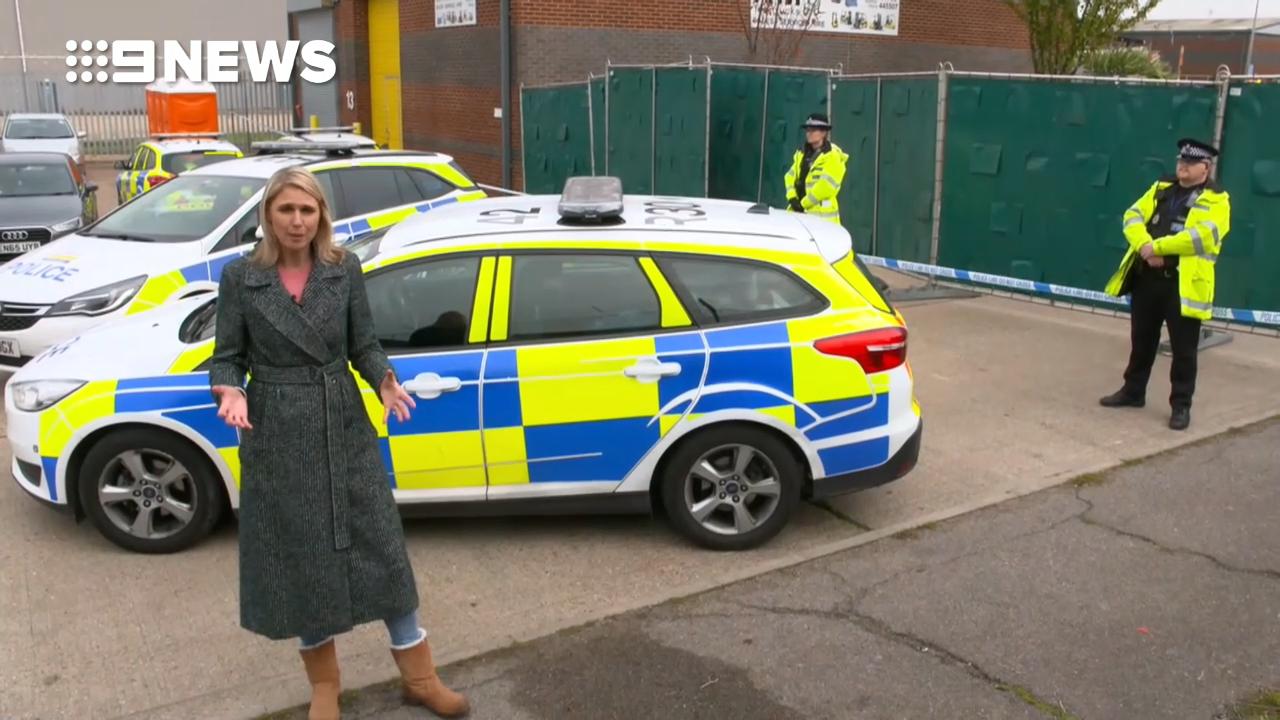 Thirty-nine found dead in truck in Essex, UK